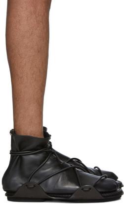 Salvatore Ferragamo Black Santorini 2 Boots