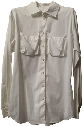 Miu Miu White Cotton Top for Women
