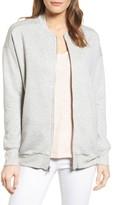 Gibson Petite Women's Knit Bomber Jacket