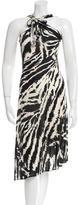 Joseph Sleeveless Printed Dress