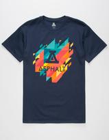 Asphalt Yacht Club Geoprism Logo Mens T-Shirt