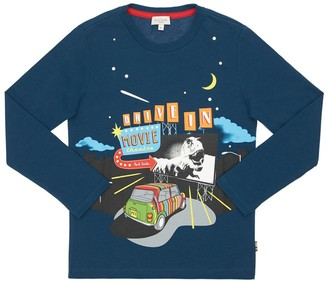 Paul Smith Printed Cotton Jersey T-Shirt