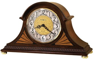Howard Miller Grant Classic, Victorian, Old World, Chiming Mantel Clock with Silence Option, Reloj del Estante
