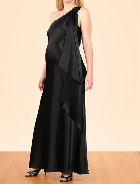 ABS by Allen Schwartz Apeainthepod Collection Sleeveless Hardware Detail Maternity Dress