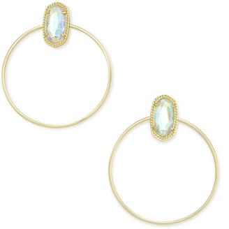 Kendra Scott Mayra Hoop Earrings In Gold