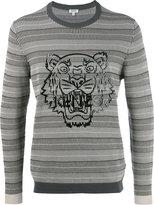 Kenzo tiger print branded sweatshirt
