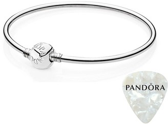 Pandora Women 925 Silver Silver Charm Bracelet - 590713-21
