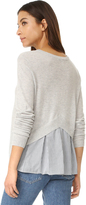 Autumn Cashmere Peekaboo Sweater