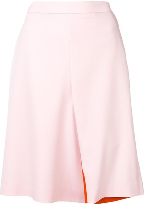 Y/Project Contrast Lining Skirt