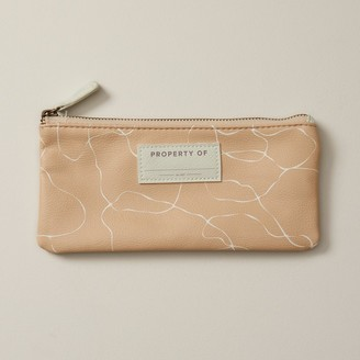 Indigo Paper Small Pencil Pouch Blush