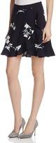Aqua Floral Skirt - 100% Exclusive