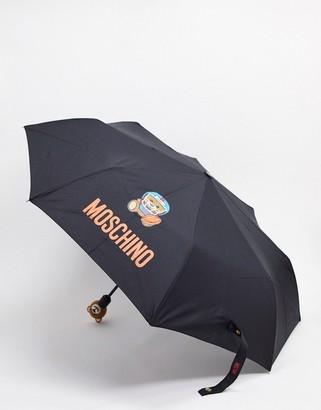 Moschino umbrella in black