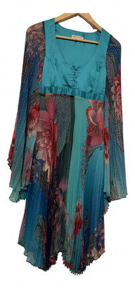Matthew Williamson Blue Silk Dresses