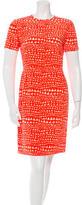 Stella McCartney Silk Abstract Print Dress