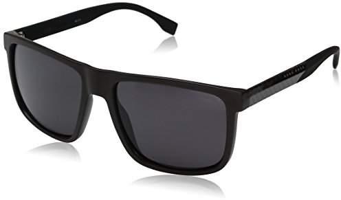 HUGO BOSS BOSS by Men's B0879s Rectangular Sunglasses