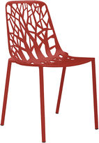 Janus et Cie Forest Outdoor Side Chair, Red