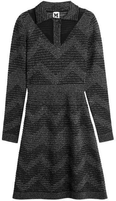 M Missoni Metallic Knit Dress