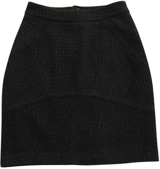 Alexander Wang Navy Wool Skirt for Women
