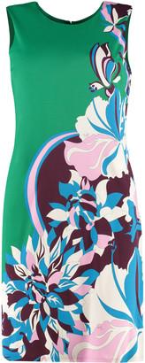 Emilio Pucci Printed Jersey Sheath-dress