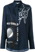 Stella McCartney statement print shirt - women - Silk - 40