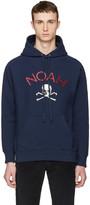 Noah Navy Jolly Roger Hoodie