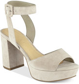 Marc Fisher Meliza Platform Block-Heel Sandals