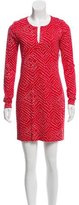 Diane von Furstenberg Silk Polka Dot Dress w/ Tags