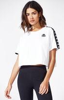 Kappa Spangle Taped Cropped T-Shirt