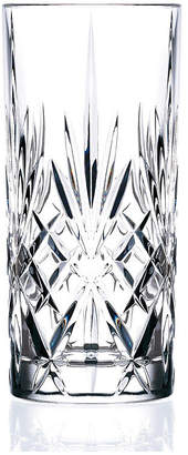 Lorren Home Trends Melodia Crystal Highball Glass - Set of 6