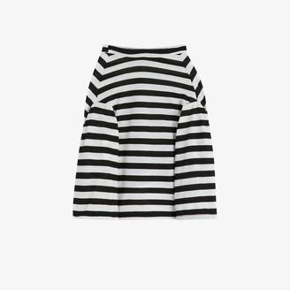 Petements stripe long sleeve dog T-shirt