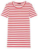 Petit Bateau Womens T-shirt in heritage striped rib