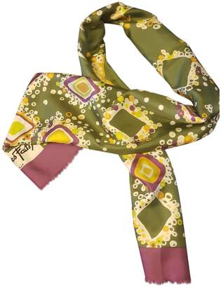 Jacques Fath Multicolour Silk Scarves