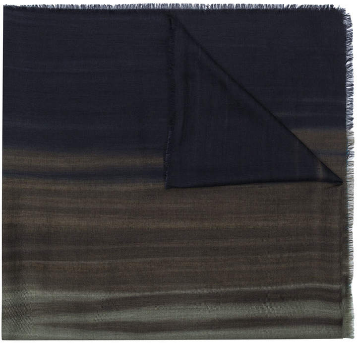 Ermenegildo Zegna coloured styled scarf