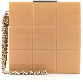Chanel Pre Owned Choco Bar mini clutch