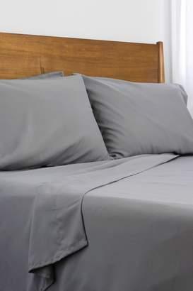 Southshore Fine Linens King Classic Duvet Cover 3-Piece Set - Light Grey