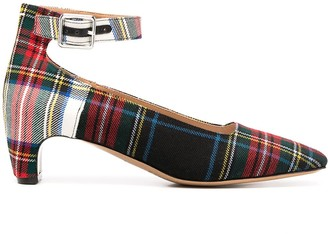 Maison Margiela Tartan 55mm Court Shoes