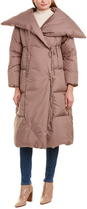 ADD Puffer Down Wrap Coat