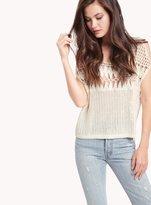 Ella Moss Bastia Crochet Top