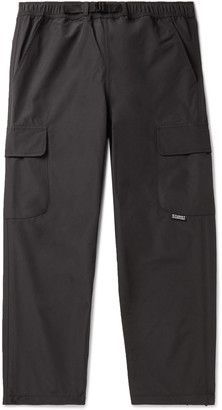 Stussy Belted Nylon Cargo Trousers - Men - Black