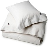Lexington Company Lexington American Pin Point Oxford Duvet Cover - Beige/White - Super King