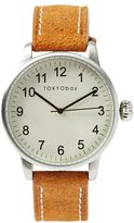 Frank + Oak Tokyobay Desu Watch In Tan