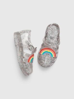 Gap Toddler Rainbow Jelly Sandals
