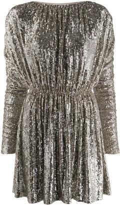 Saint Laurent Sequin-Embellished Dress