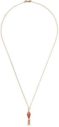 Selim Mouzannar 18kt rose gold Fish for Love necklace