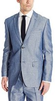 Perry Ellis Men's Linen Cotton Twill Suit Jacket