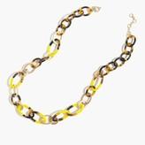 J.Crew Beaded link necklace