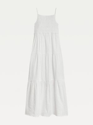 Tommy Hilfiger Pure Cotton Maxi Length Dress