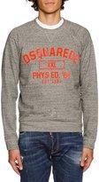 DSQUARED2 Heather Varsity Sweatshirt, Dark Gray