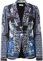 Wunderkind multi print blazer - women - Cotton - 34