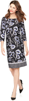A Pea in the Pod Printed Maternity Shift Dress